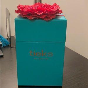 Tieks Box with Fushia Flower